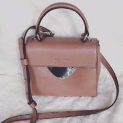 Mini bag Beige Nude