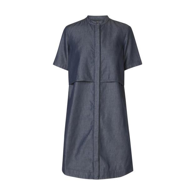 robe chemise manches courtes en jean Monoprix 39.99