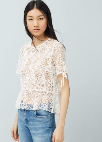 blouse peplum mango 49.99