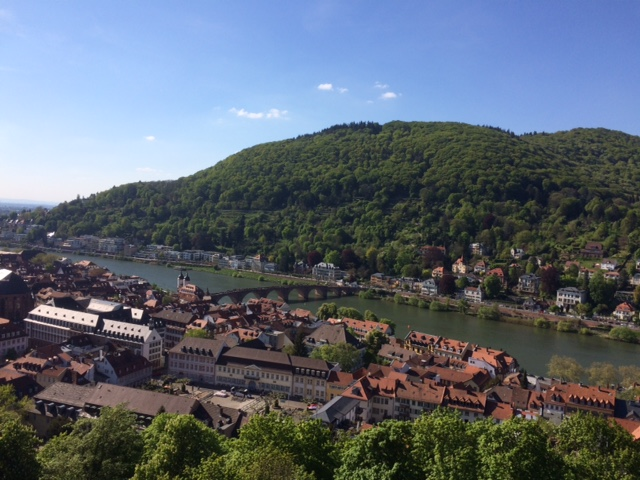 Escapade à Heidelberg,Allemagne.