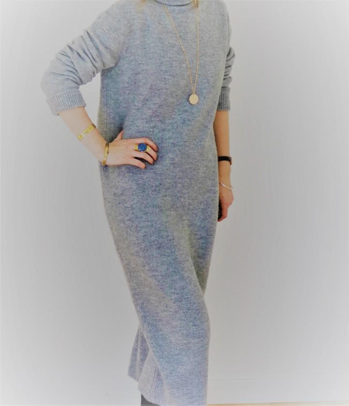 Look: la robe pulloversize