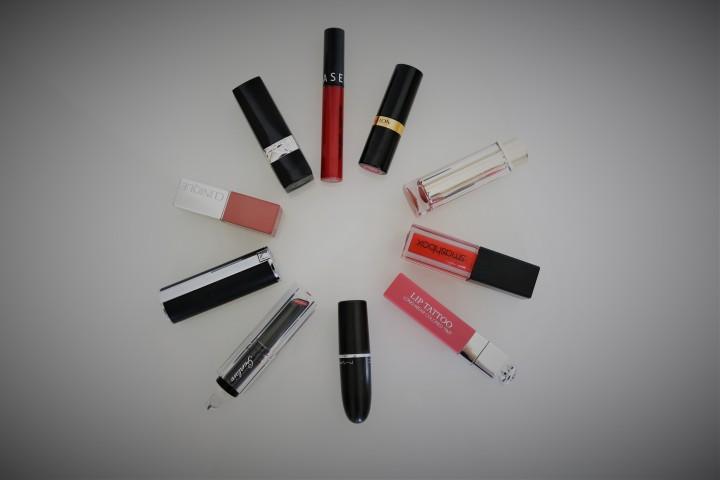 Mes 10 Rouges à Lèvres favoris, Vidéo +Swatch