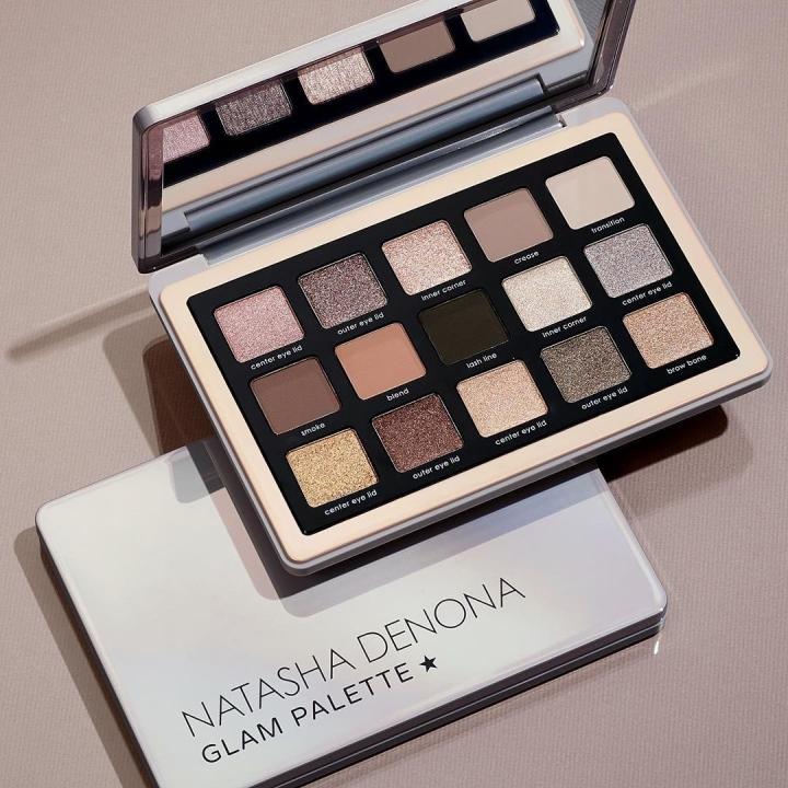 Pourquoi vais-je acheter la Glam palette de NatashaDenona?